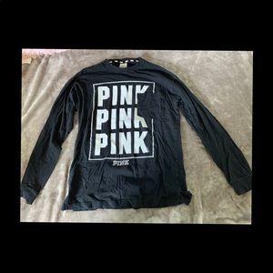 Black Pink long sleeve shirt